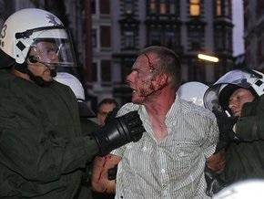 27 полицейских ранены в результате столкновений с демонстрантами в Гамбурге
