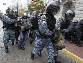 Патриот Украины заявил, что к побоищу в центре Киева привели действия милиции