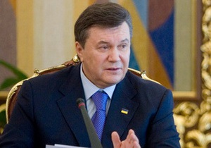 Янукович призвал провести парламентские выборы на новой нормативной основе