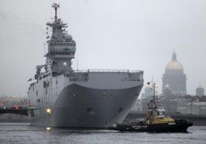 СМИ: Россия и Франция подписали контракт на покупку Мистралей