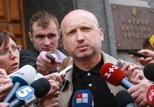 СБУ: Турчинов пришел на допрос по повестке. Обыск в его квартире не планировался