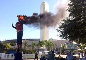 В Техасе сгорела знаменитая скульптура ковбоя