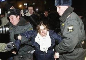 Госдеп США выразил озабоченность разгоном акции протеста в Москве