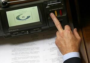 Рада намерена отменить талон к водительскому удостоверению