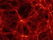 Во Вселенной обнаружено самое большое скопление темной материи