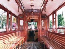 В Харькове появился раритетный трамвай