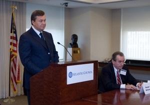 Янукович пообещал, что в Украине каждый сможет использовать родной язык на равных условиях