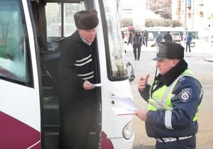 Новости Киева - ГАИ - маршрутки - ГАИ Киева выявила троих пьяных водителей маршруток