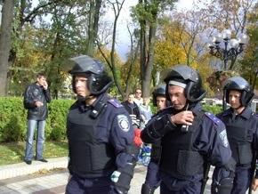 22 милиционера госпитализированы после марша УПА