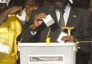 В Судане завершился первый день исторического референдума