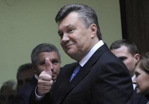 Янукович высказал свое мнение о прошедших выборах