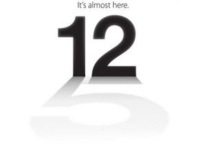 Apple разослала СМИ приглашения на презентацию iPhone 5