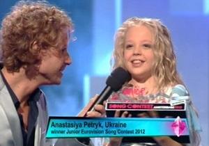 Детское Евровидение 2012: Азаров поздравил Настю Петрик с победой