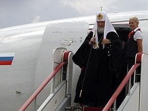 Патриарх Кирилл собрался вернуться в Украину в 2010 году