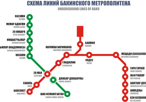 Парламент Азербайджана назначил штрафы за придерживание дверей в вагонах метро