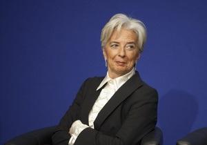 Кристин Лагард предложила назначить заместителем главы МВФ представителя Китая
