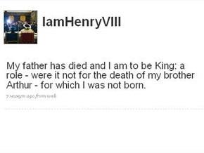 В интернете появился блог короля Генриха VIII