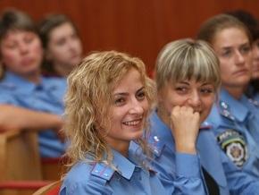 Украинские правоохранители празднуют День милиционера