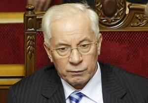Азаров, ранее заявлявший о достижении компромисса с РФ, готов платить за газ $400