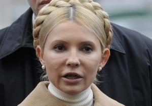 Тимошенко считает, что украинские телеканалы недостаточно освещали ее визит в Брюссель