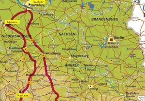 Европа на колесах. Гид по Германии. Маршрут № 1