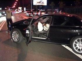 В Киеве по вине пьяного автослесаря, угнавшего машину швейцарского дипломата, погибла киевлянка