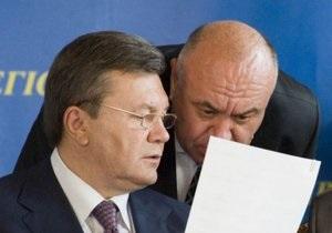 Янукович назначил Цушко председателем АМКУ