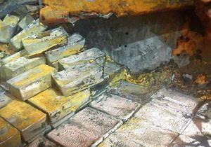 С британского корабля, потопленного немецкой подлодкой, подняли около 50 тонн серебра