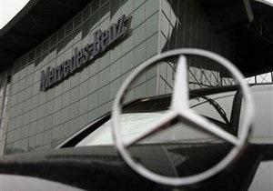 В августе продажи легковых автомобилей Mercedes-Benz выросли почти на 8%