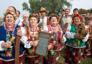 В Полтавской области торжественно открылась Сорочинская ярмарка-2011