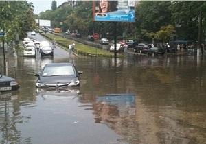 Вчерашний ливень в Киеве может обойтись страховщикам в круглую сумму