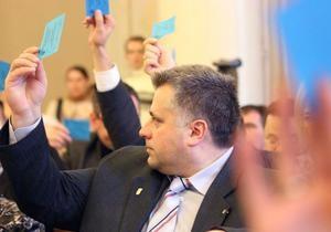 Два облсовета призвали Януковича  прекратить политические репрессии
