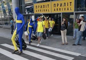 Из-за границы болельщики чаще всего прибывают на самолетах, а по Украине путешествуют на поездах