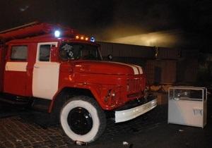 В Киеве горел склад одного из мобильных операторов