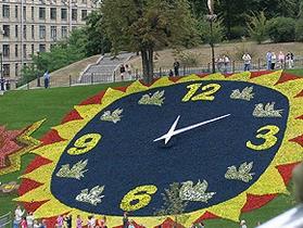 Ко Дню Киева цветочные часы изменят свой вид