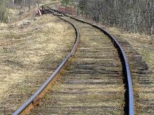 В Донецке разворовали железнодорожное полотно, создав вероятность крушения поезда