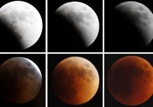 Фотогалерея: Ушла в тень. Полное затмение Луны
