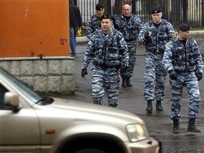 В Москве неизвестные подожгли четыре милицейские машины