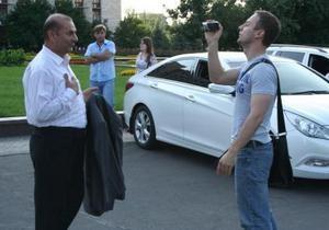 В Донецке произошел инцидент между мэром Краматорска и журналистом