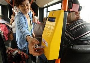 новости Киева - транспорт - новые компостеры - автобусы - Стало известно, какие киевские автобусы останутся без привычных компостеров