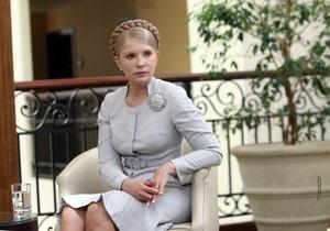 Тимошенко рассказала о незадекларированных доходах
