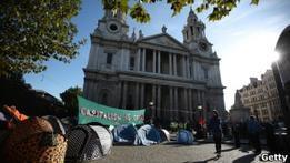 Собор Святого Павла в Лондоне закрыт из-за демонстраций