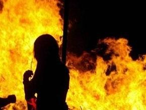 В Екатеринбурге горит торговый центр