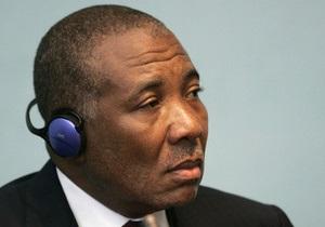 Бывшего главу Либерии признали виновным в поддержке повстанцев в Сьерра-Леоне