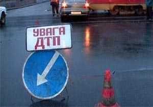 Водитель сгорел в результате ДТП под Днепропетровском