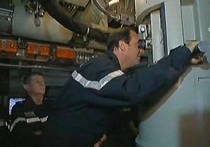 Олланд стал первым президентом Франции, совершившим погружение на атомной подлодке