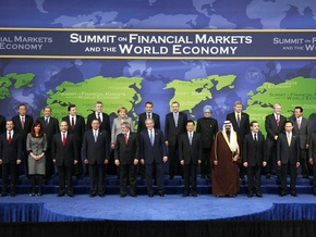 Браун на встрече с Медведевым: саммит G20 - историческое событие