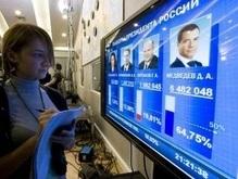Преимущество Медведева растет