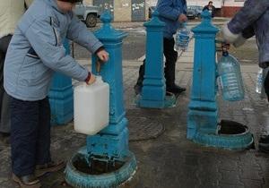 Киевские власти намерены в следующем году возобновить работу всех бюветов