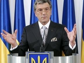 Ющенко о НАТО: Мяч не на украинской половине поля